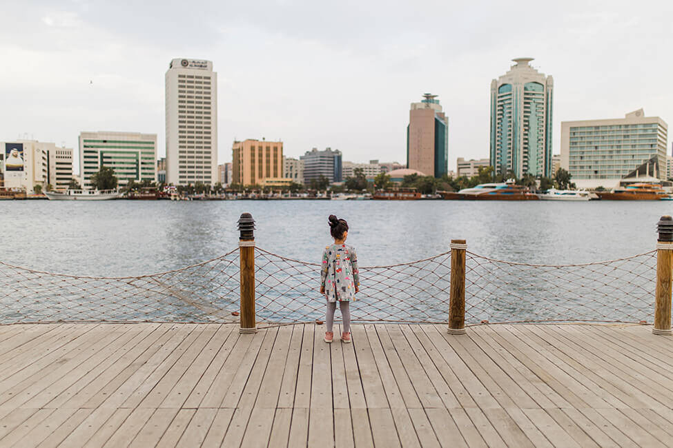 Family and kids photoshoot in Al Seef, Dubai