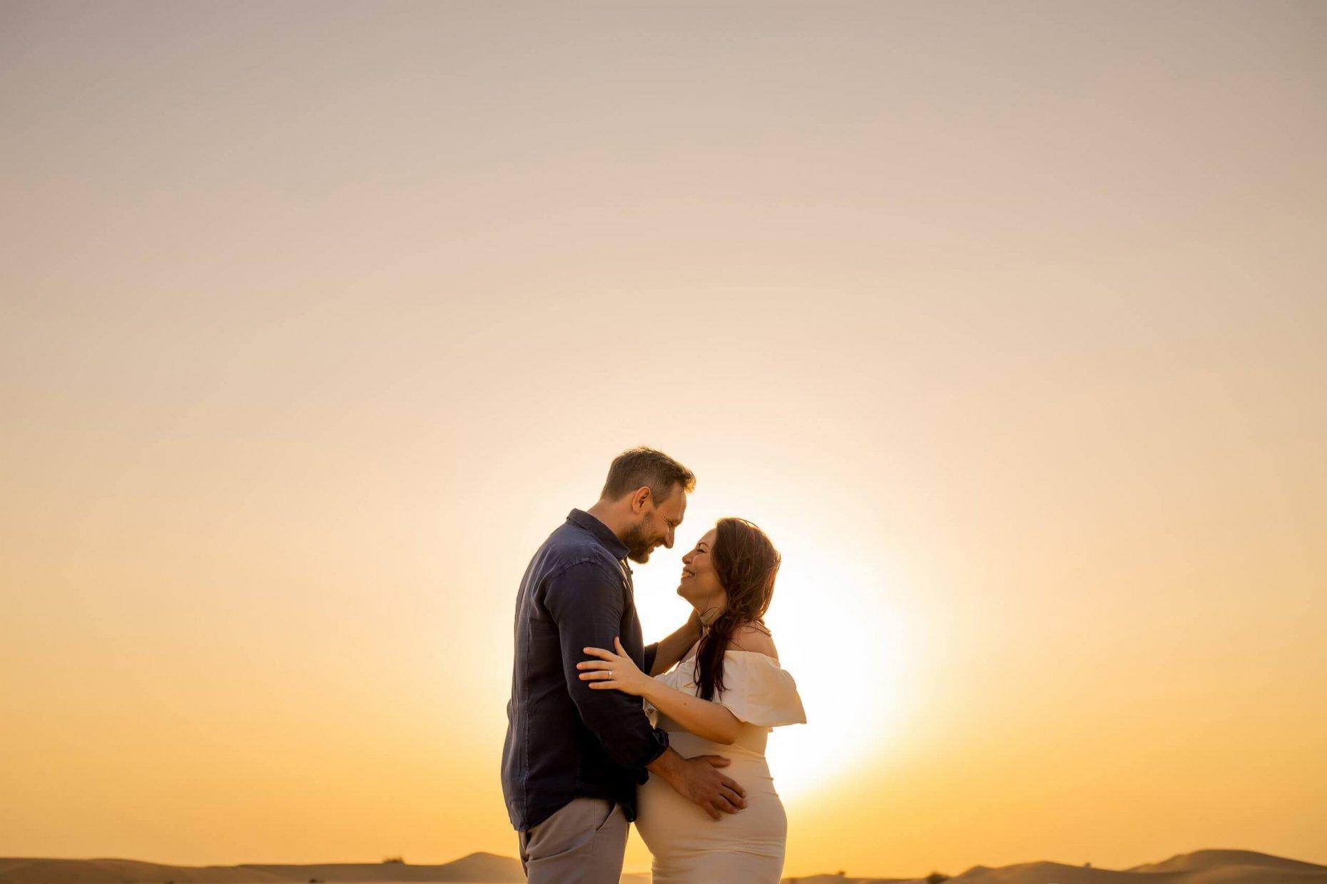 Maternity photographer Dubai