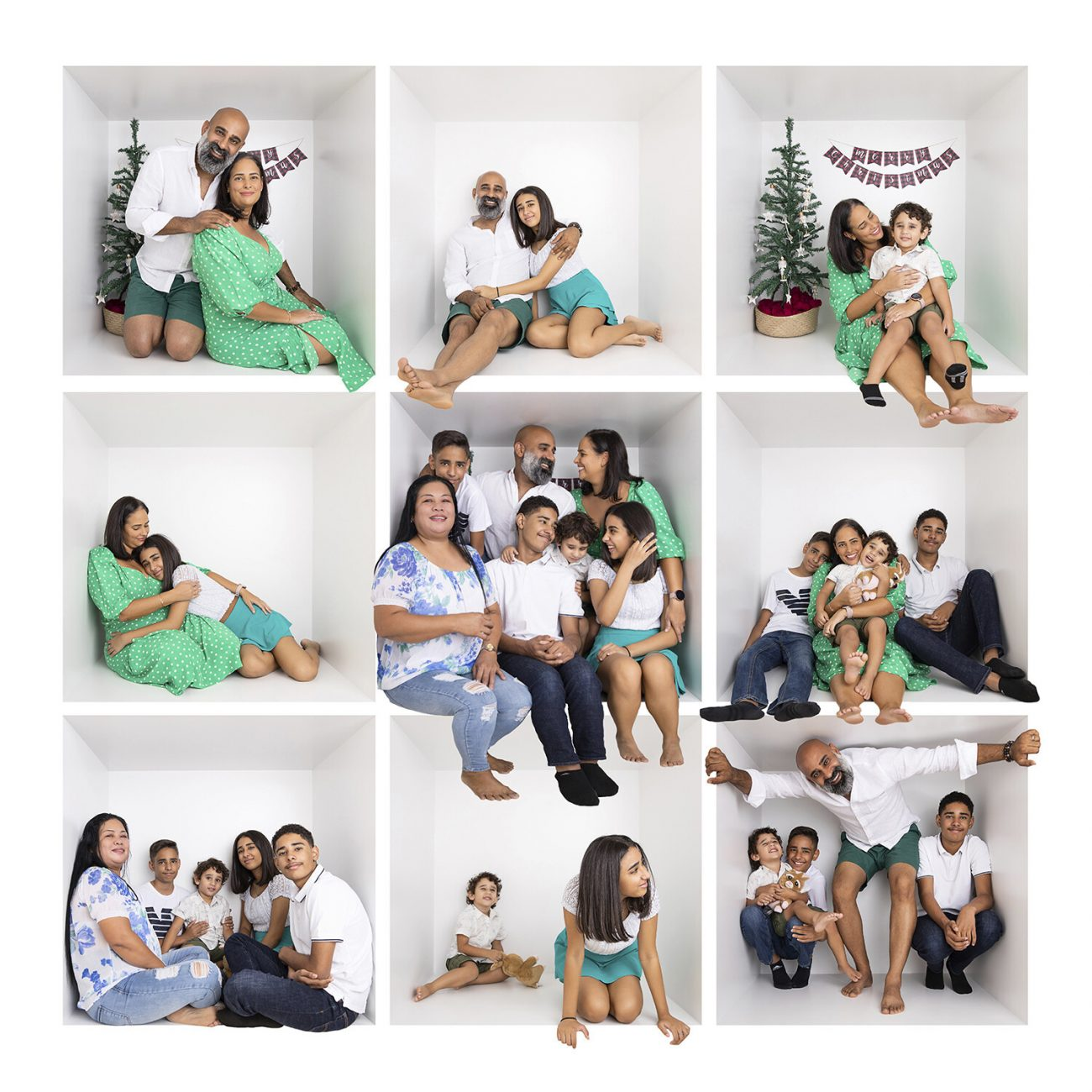 Christmas photoshoot in Dubai