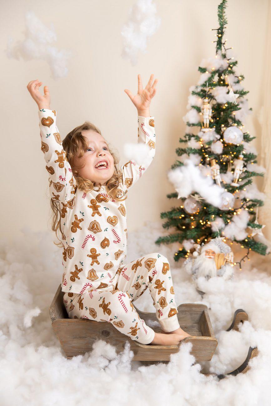 Christmas photoshoot in Dubai Studio