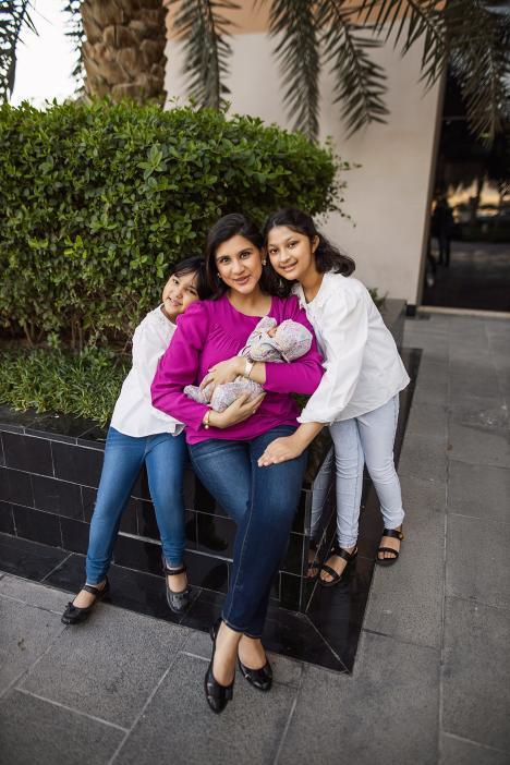 Family photoshoot in Dubai