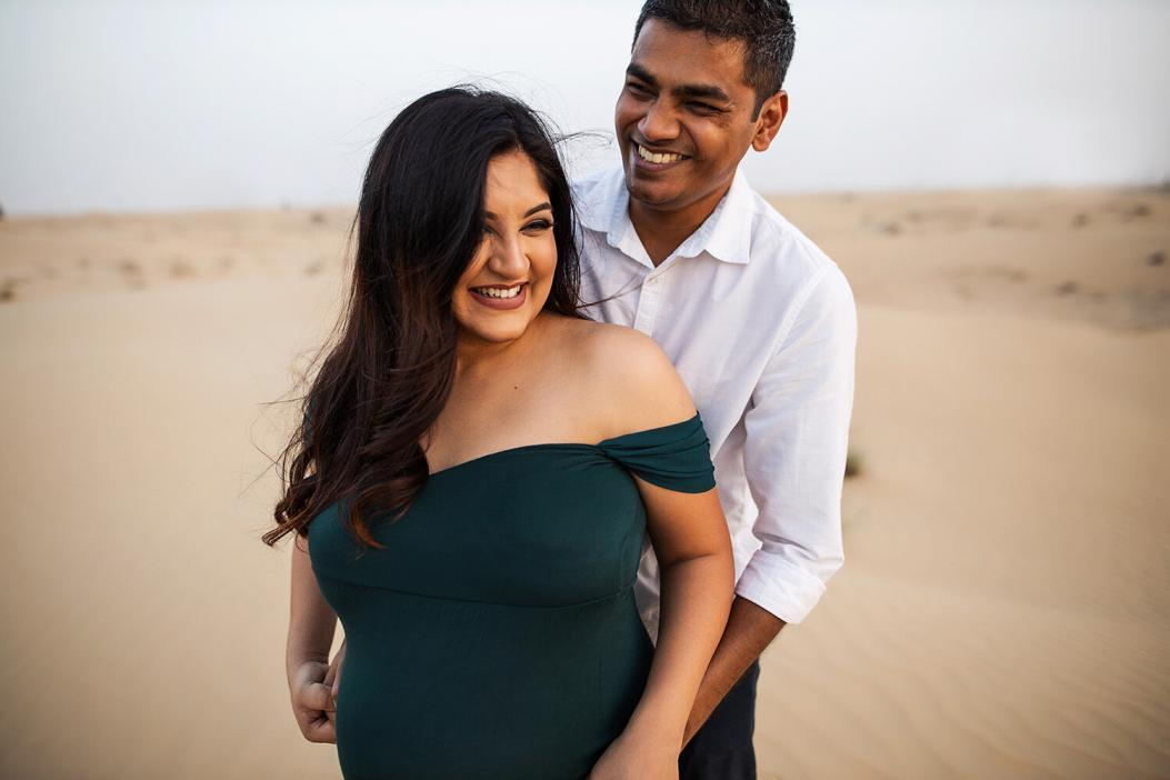 Maternity photoshoot in Dubai, Al Qudra