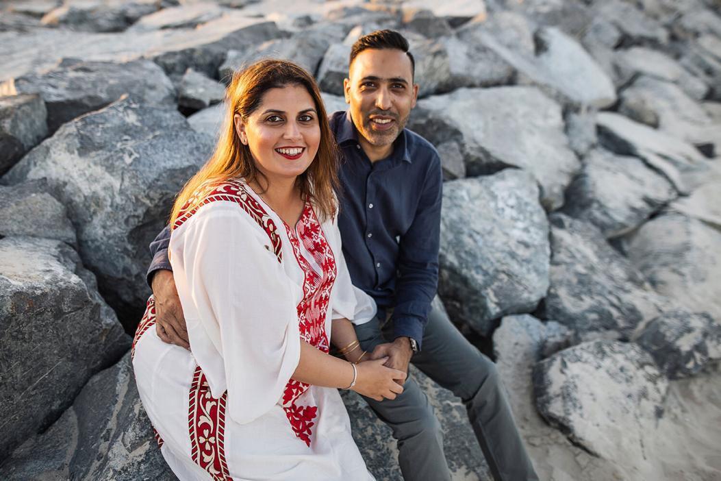 Family photoshoot in Dubai sufouh beach